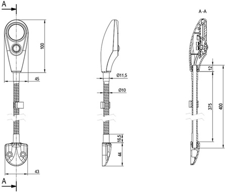 SGN technical drawing