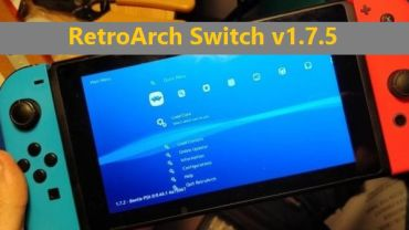 retroarch switch emuladores para nintendo switch
