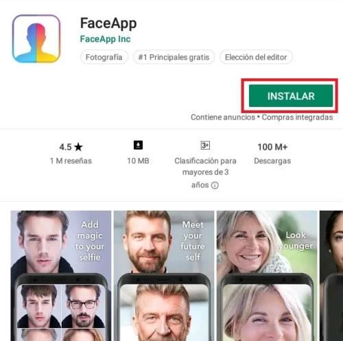 Cómo descargar y usar FaceApp 3