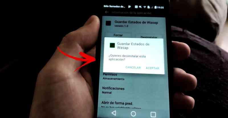 eliminar aplicaciones en Android