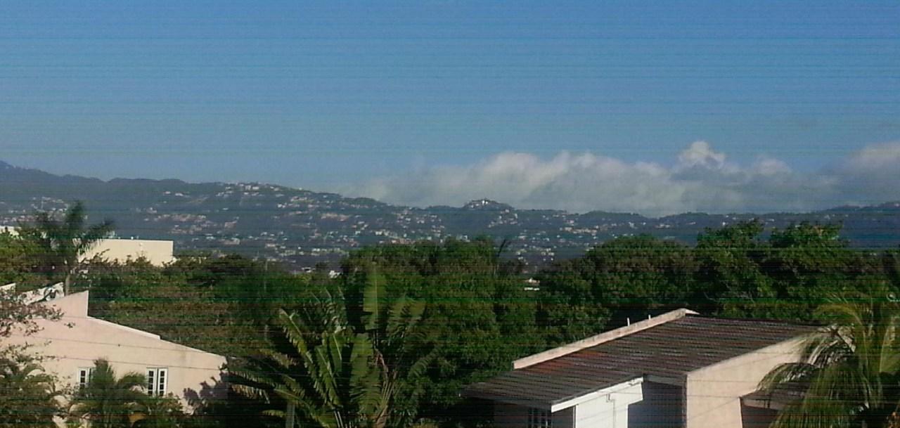 Blick auf Kingston Jamaika