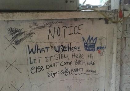 Alleys Stand Negril Jamaika