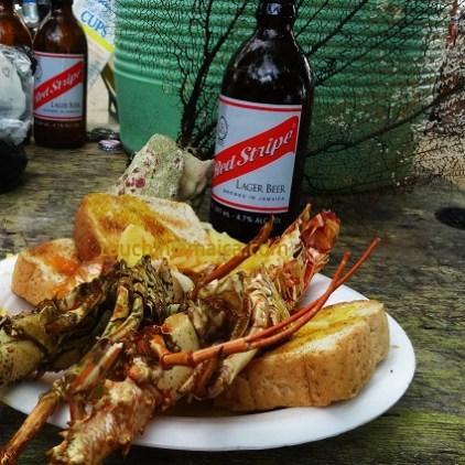 Lobster in BoobyCay
