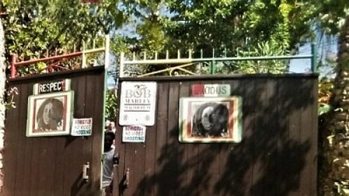 Bob Marley Mausoleum auf dem Mount Zion