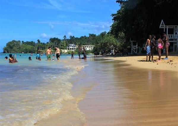 Dunn's River Beach