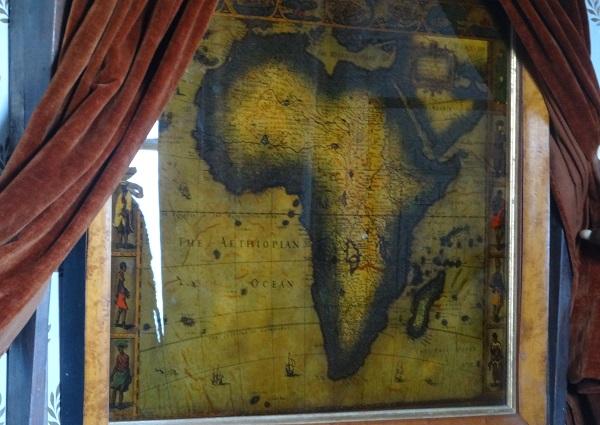 Karte von Afrika 1629