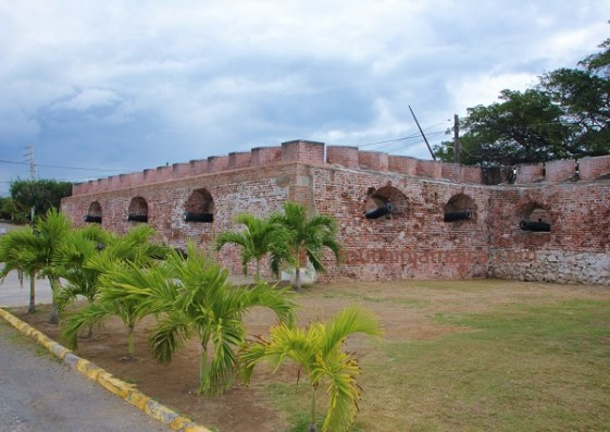 Ziemlich wehrhaft - Die Kanonen von Fort Charles