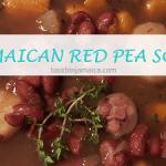 Rezept für eine original jamaikanische Red-Pea-Soup