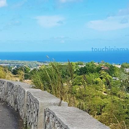 Aussicht auf den karibischen Ozean bei St.Anns Bay in Jamaika.