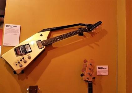 Im Jamaica Music Museum in Kingston.