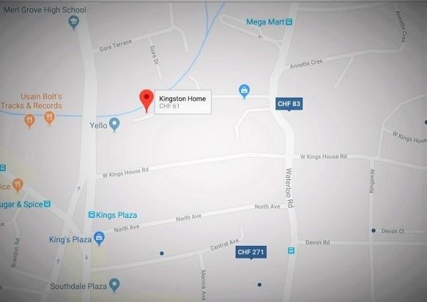 Kingston Home Map