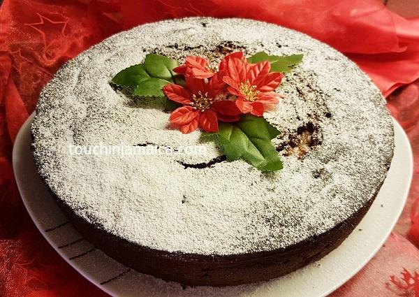 Jamaican Christmas Cake Decoration