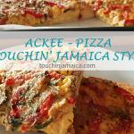 Jamaikanische Ackee Pizza