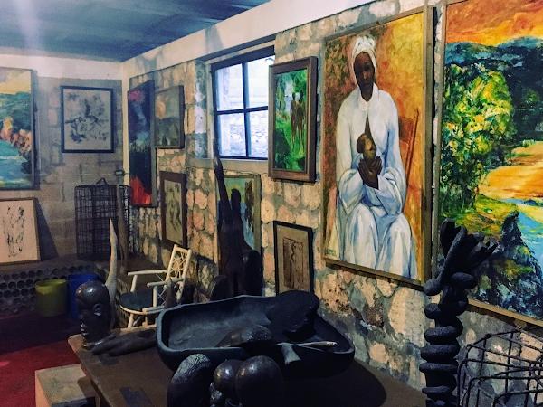 Gallery Joe James in Rio Bueno/Jamaika
