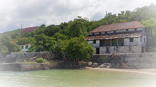 Das erste Hotel in Rio Bueno/ Jamaika