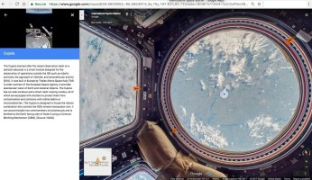 Street View_ISS_Cupola Observational Module- Annotation_web2016_8_nowat