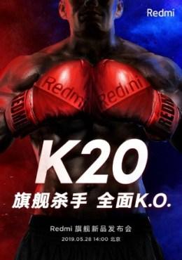 Pozvánka na predstavenie Redmi K20