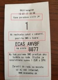 Takto vyzerá poradový lístok