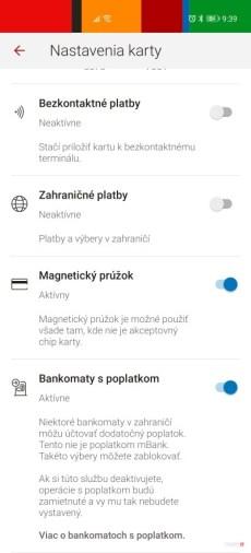 mBank blokovanie výberov z bankomatov s poplatkom