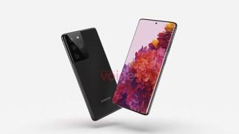 Samsung Galaxy S21 Ultra render