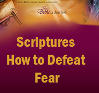 Scriptures on how to defeat fear