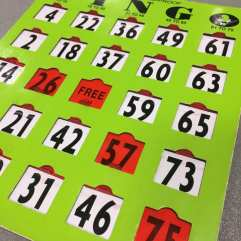 SCN Bingo 2019