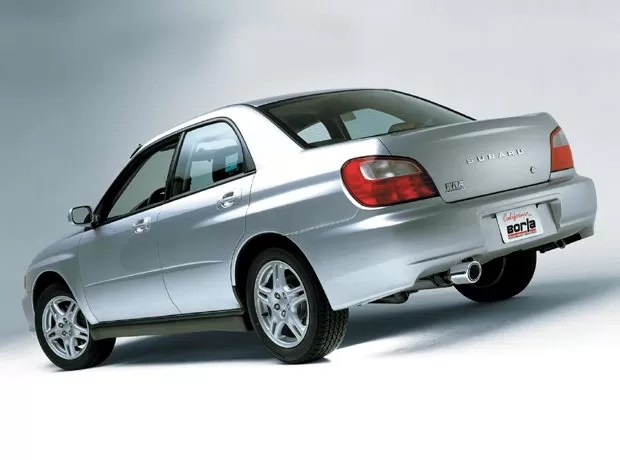borla s type cat back exhaust 2002 2007 subaru impreza wrx 2004 2007 sti