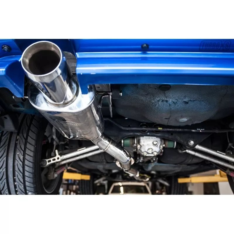 turboxs 2 5 xt cat back exhaust 2004 2008 subaru forester
