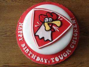 Geburtstags- und Jubiläumstorte Tough Chicken