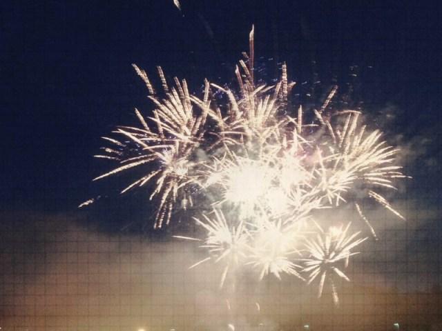 Breakout Run Feuerwerk