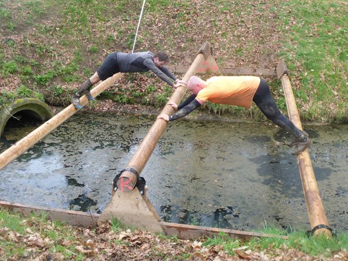 Strong Viking Obstacle Run 2015, Mud Edition, Bridge