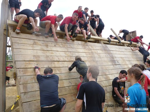 Mud Masters Obstacle Run 2015, Hindernis Power Tower