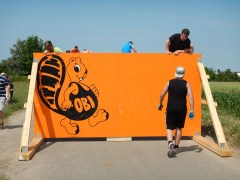 Mudiator Run 2015, Hindernis The Walls