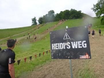 Tough Mudder NRW 2015, Heidis Weg