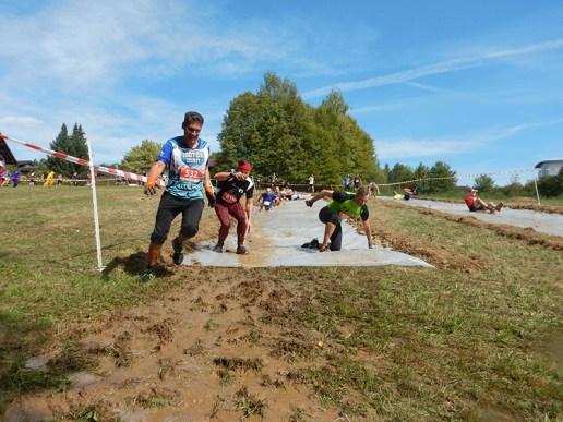Hindernislauf Baden-Württemberg, Motorman Run 2015, Rutschpartie