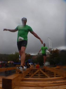 Hindernislauf Bayern, Rock.Race 2015, Hindernis Balken balancieren