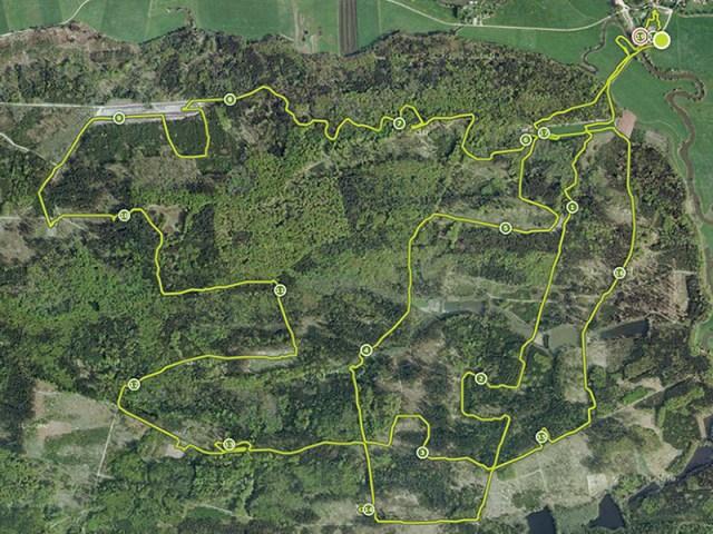 Hindernislauf Bayern, Tough Mudder Süddeutschland 2015, Streckenverlauf