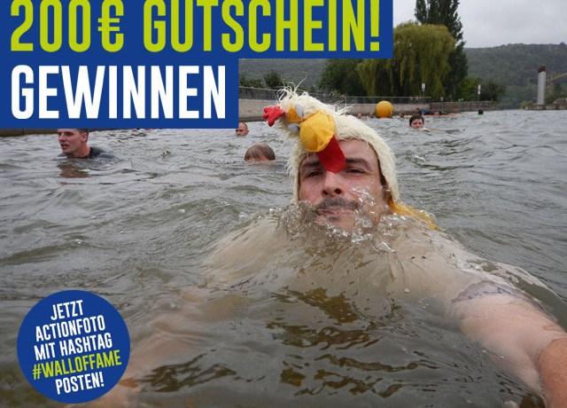 Gewinnspiel Quäse 200 € Gutschein Runners Point