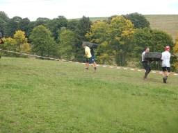 Hindernislauf Baden-Württemberg, Rothaus Mudiator Run 2015, Hindernis Reifen tragen