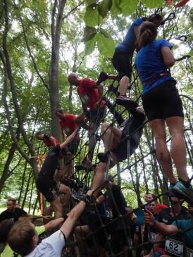 Hindernislauf Hessen, Bad Wolf Dirt Run 2015, Hindernis Spiderman