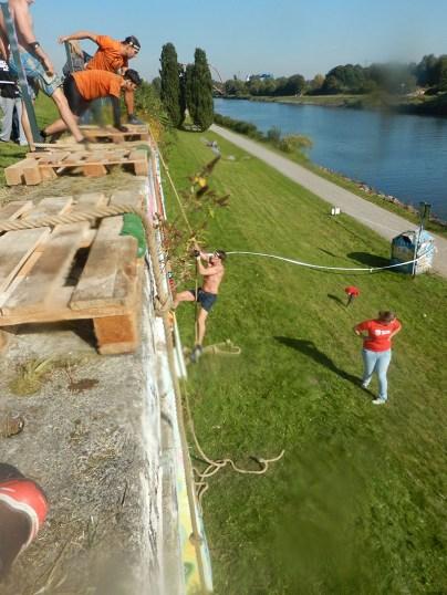 Hindernislauf Nordrhein-Westfalen, XLETIX Challenge Ruhrgebiet 2015, Hindernis Rocky Ropes