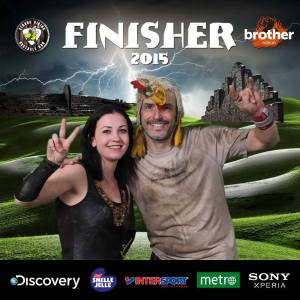 Strong Viking Obstacle Run brother edition 2015, Finisher Foto
