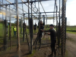 Strong Viking Obstacle Run brother edition 2015, Hindernis Platinum Rig