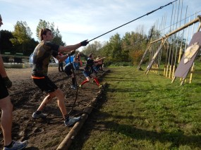 Strong Viking Obstacle Run brother edition 2015, Hindernis Raise the Sail
