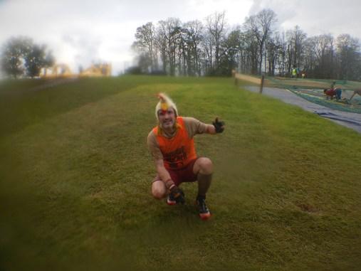Hindernislauf England, Rat Race Dirty Weekend 2016, Tough Chicken 2. Runde