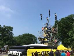 Hindernislauf-Deutschland, Mud-Masters-24-Stunden-2016, Veranstaltungsgelaende-Sprungturm