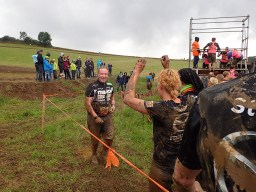 Tough Mudder, Hindernislauf NRW, Hindernis Arctic Enema 2.0 Joey Kelly