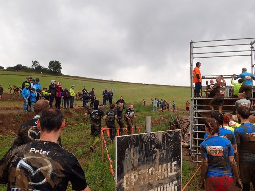Tough Mudder, Hindernislauf NRW, Hindernis Arctic Enema 2.0 Optionale Umgehung