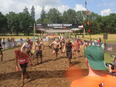Tough Mudder, Hindernislauf NRW, Hindernis Electroshock Therapy