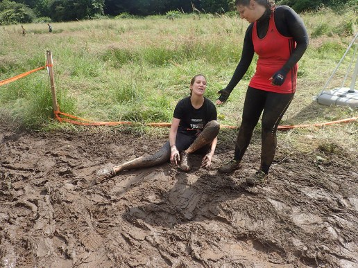 Tough Mudder, Hindernislauf NRW, Hindernis Mud Mile 2.0 Team OLYMPUS